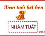 Xem tuổi kết hôn đẹp nhất cho nam nữ sinh năm 1982 Nhâm Tuất