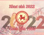 Tuổi đẹp xông đất tết 2022 cho tuổi Canh Dần 1950